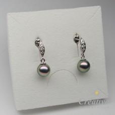 Náušnice s tahitskými perlami