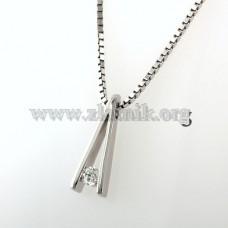 Přívěsek s diamantem NAH007