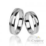Snubní prsteny SP082
