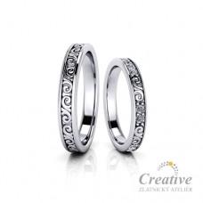 Snubní prsteny SP068