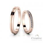 Snubní prsteny SP081