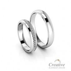 Snubní prsteny SP060