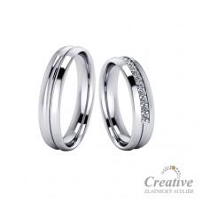 Snubní prsteny SP062