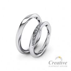 Snubní prsteny SP050