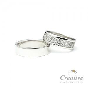Snubní prsteny SP018