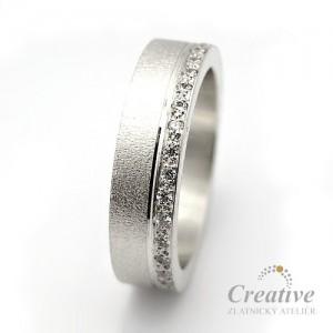 Snubní prsteny SP036