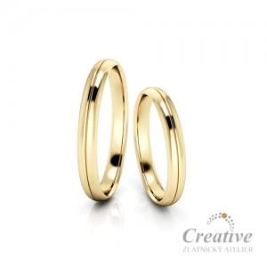 Snubní prsteny SP091