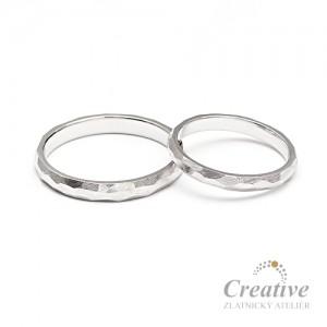 Snubní prsteny SP092