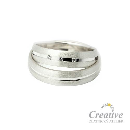 Moderni Snubni Prsteny Sp021