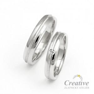 Snubní prsteny SP027