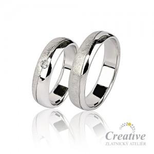 Snubní prsteny SP026