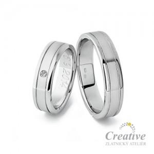 Snubní prsteny SP008