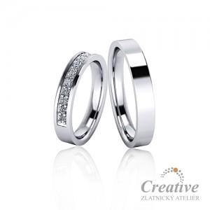 Snubní prsteny SP055