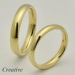 Klasické snubní prsteny SP042