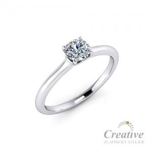 Zásnubní prsten s diamantem ZSP142