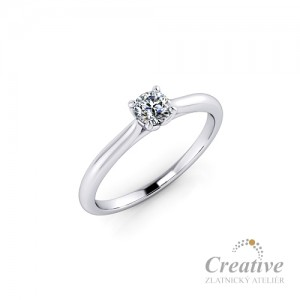 Zásnubní prsten ZSP152
