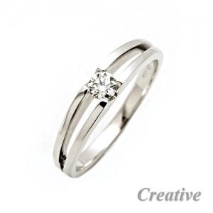Zásnubní prsten s diamantem ZSP022