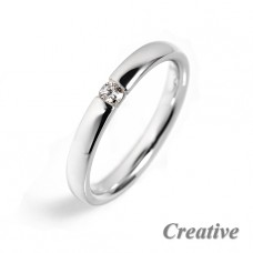 Zásnubní prsten s diamantem ZSP021