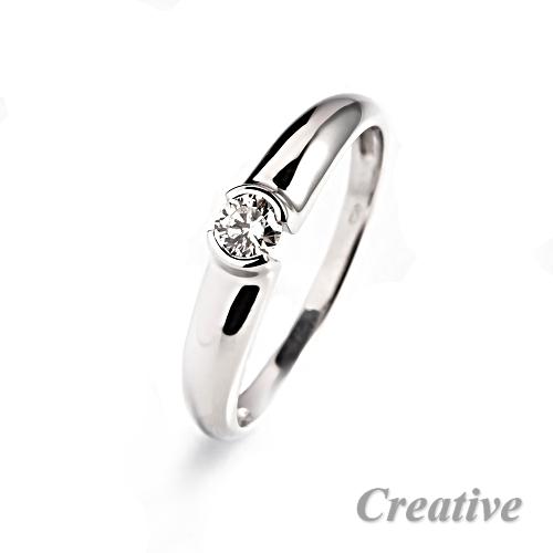 Zasnubni Prsten S Diamantem Zsp042