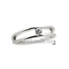 Zásnubní prsten s diamantem ZSP004