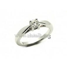 Luxusní zásnubní prsten s briliantem ZSP011