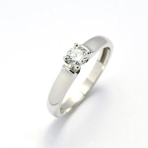 Zásnubní prsten se zirkonem ZSP039z