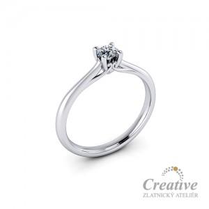 Zásnubní prsten s diamantem ZSP120