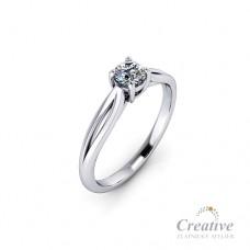 Luxusní zásnubní prsten s diamantem ZSP125