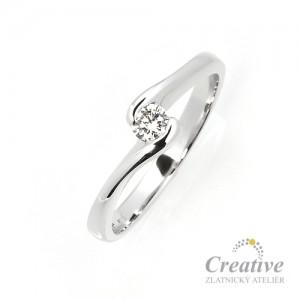 Zásnubní prsten s diamantem ZSP049