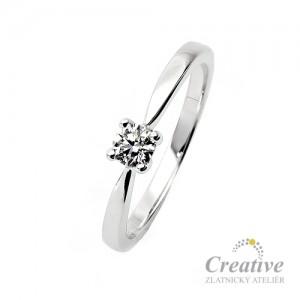 Zásnubní prsten s diamantem ZSP068