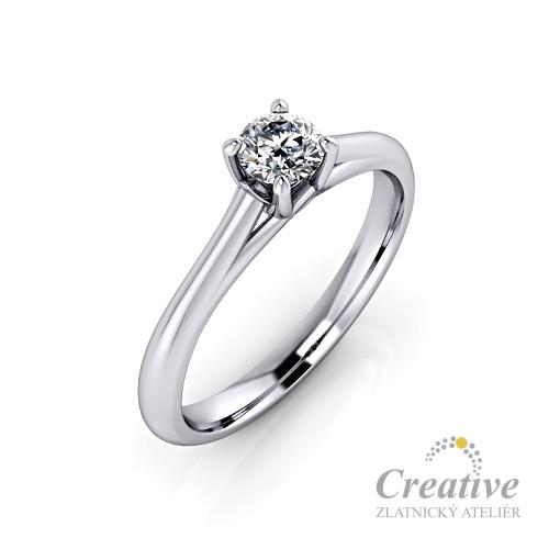 Zasnubni Prsten S Diamantem Zsp090