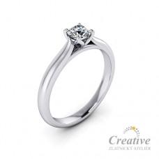 Luxusní zásnubní prsten s diamantem ZSP105