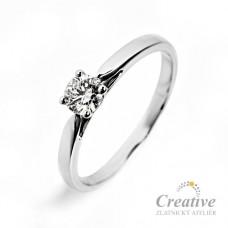 Zásnubní prsten ZSP045z