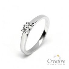 Zásnubní prsten s diamantem ZSP066