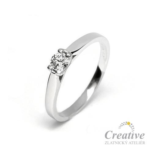 Zasnubni Prsten S Diamantem Zsp066
