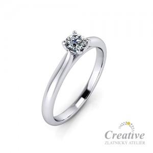 Zásnubní prsten s diamantem ZSP116