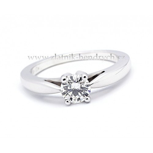 Luxusni Zasnubni Prsten S Diamantem Zsp012