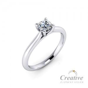 Zásnubní prsten s diamantem ZSP131-030