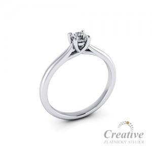 Zásnubní prsten s diamantem ZSP131